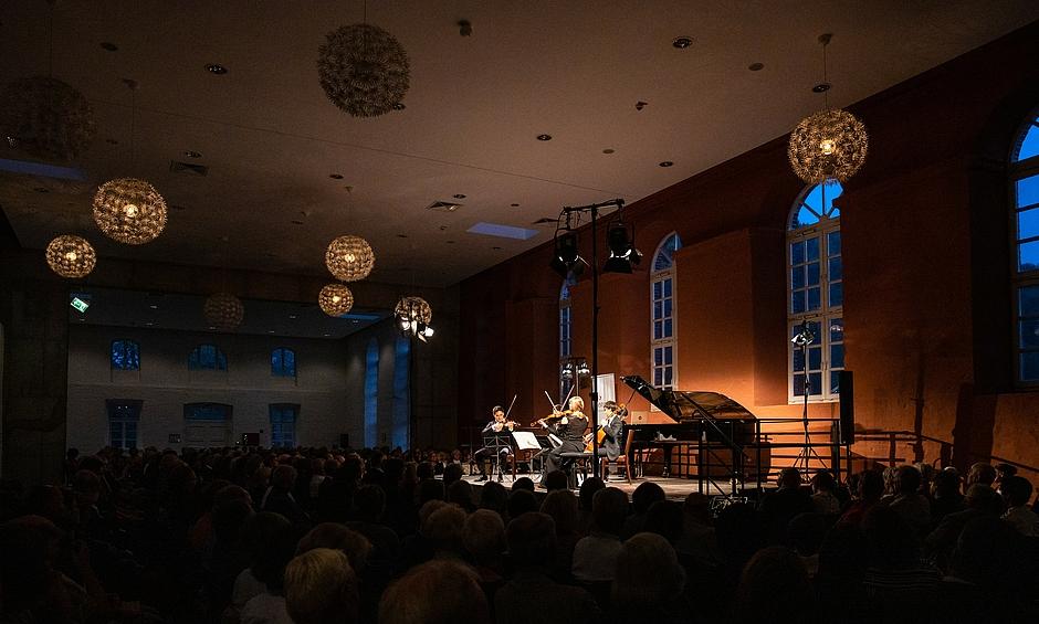 Festival Inselmusik – Concert à Putbus, Marstall