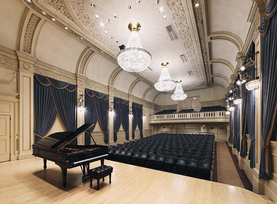 Concert «NADIA» au Carnegie Hall, NYC